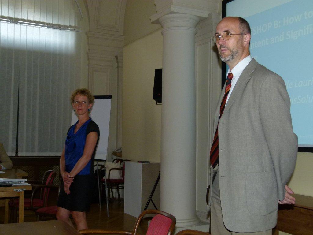 Vladimír Karen a Helle Lauridsenová