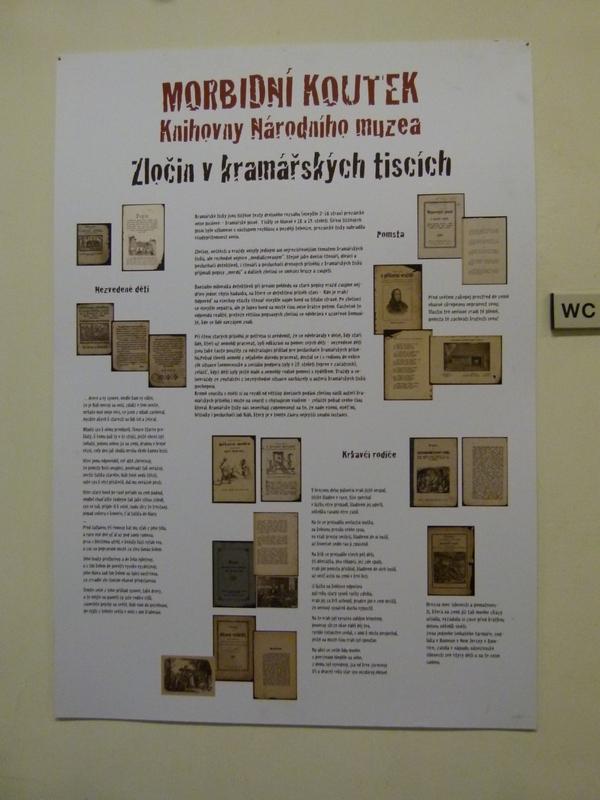 Morbidní koutek Knihovny Národního muzea