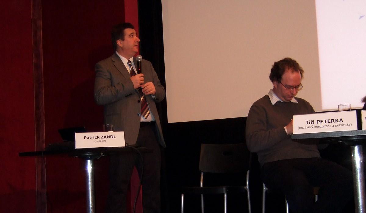 Jiří Peterka hovoří o podrobnostech dohody ACTA