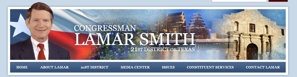 Autorem kontroverzního zákonu SOPA je republikánský poslanec Lamar Smith