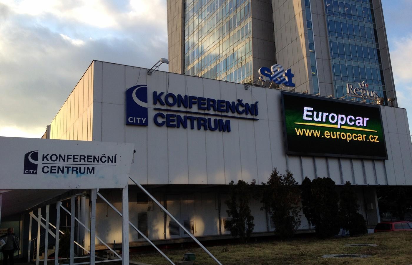 Konferenční centrum City na Praze 4