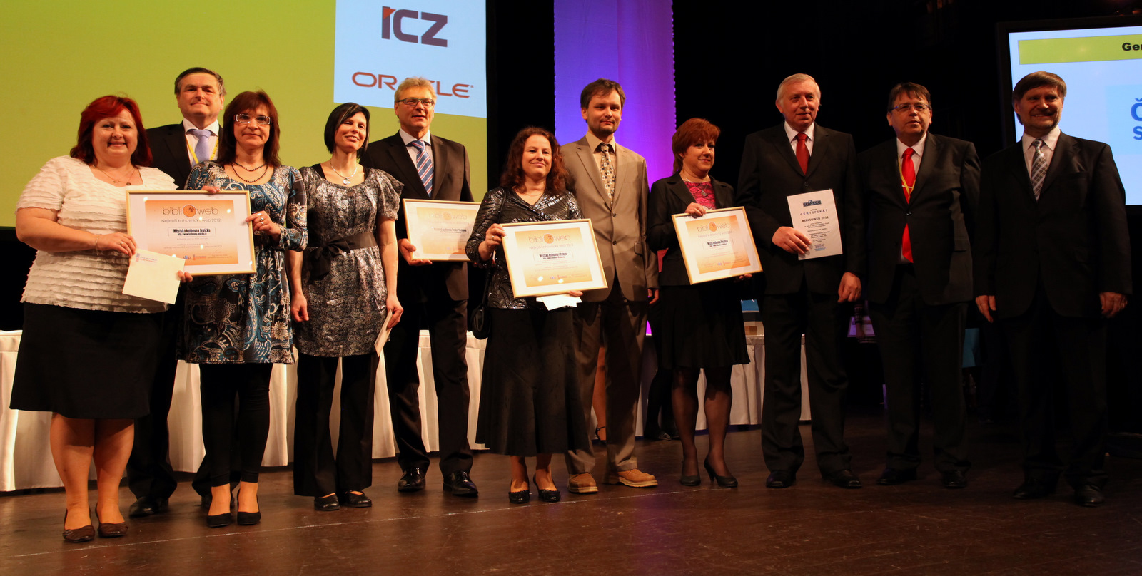 Vítězové soutěže Biblioweb