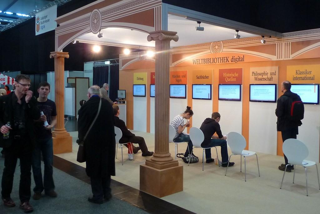 Projekt Weltbibliotek digital, který vznikl díky spolupráci Univerzitní knihovny vLipsku a organizátorů Lipského knižního veletrhu, byl spuštěn týden před zahájením veletrhu