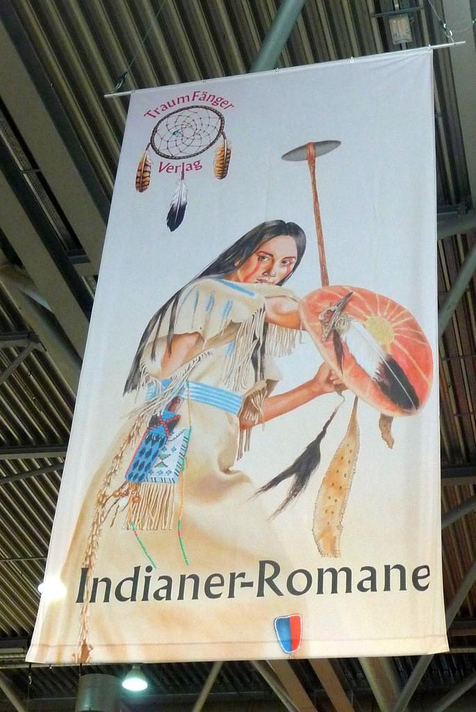 Indiánská tématika byla letošnímu veletrhu vlastní