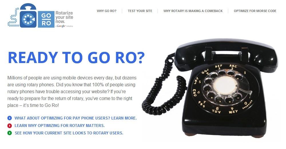 Projekt Go Rotary