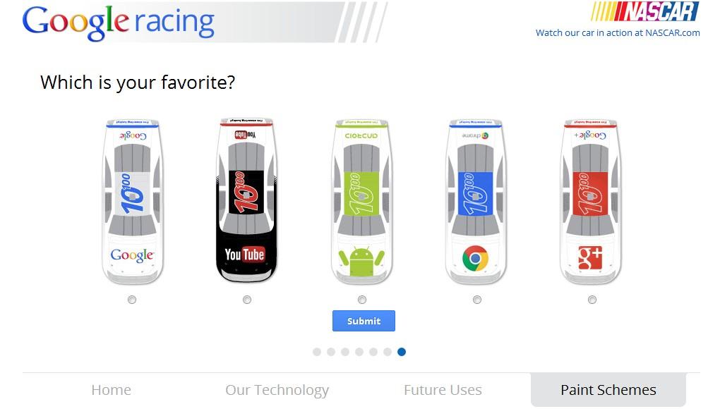 Uživatelé mohou svým hlasováním zvolit i nejlepší design