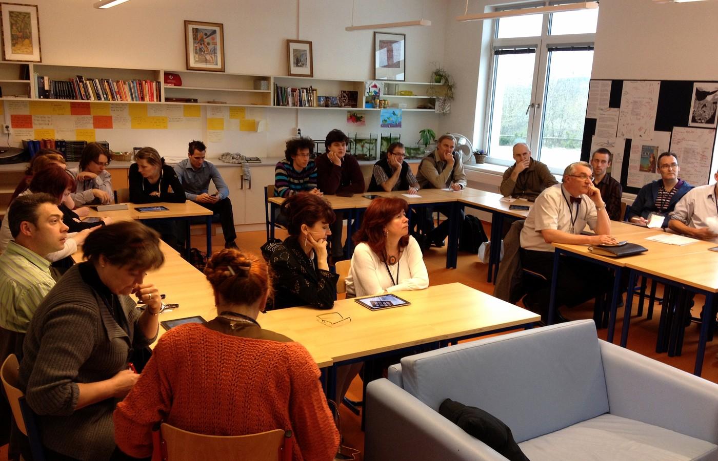 Odpolední workshopy byly více osobní a především více prakticky zaměřené