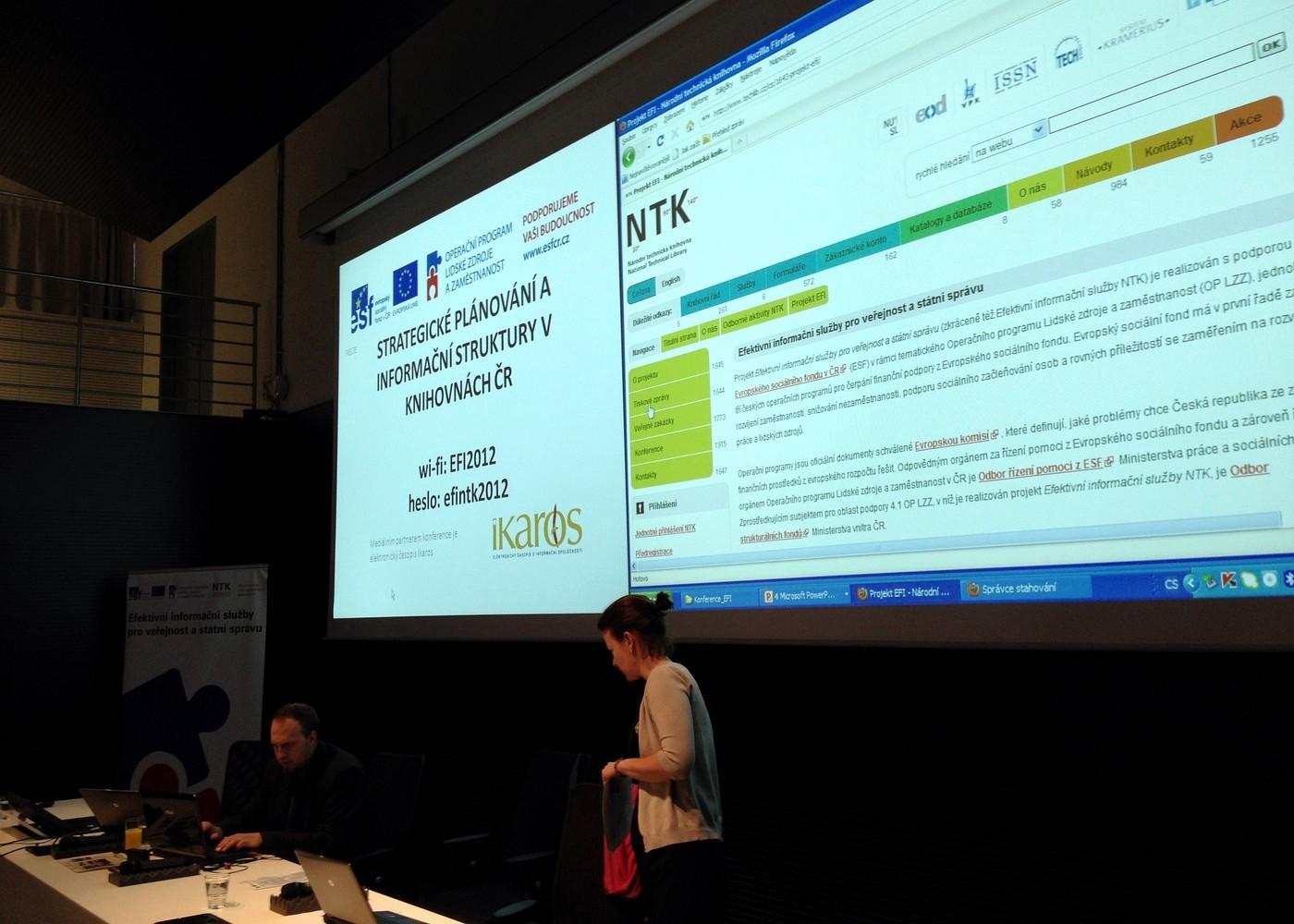 Konference Strategické plánování a informační struktury v knihovnách ČR začíná