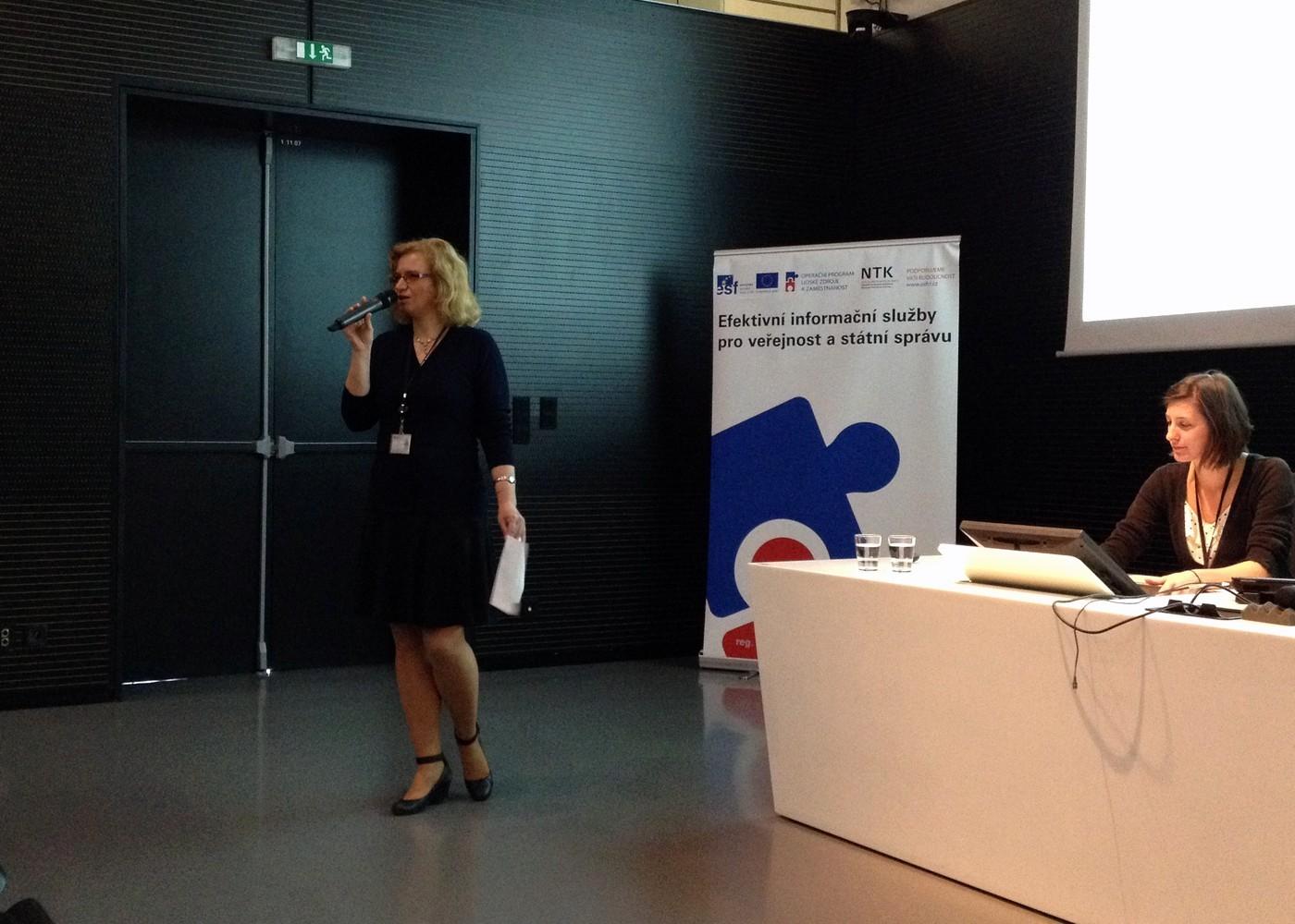 Radka Římanová, vedoucí Odboru projektů a inovací NTK