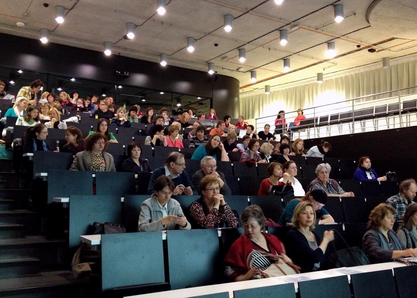 Počet účastníků konference byl ještě vyšší než posledně