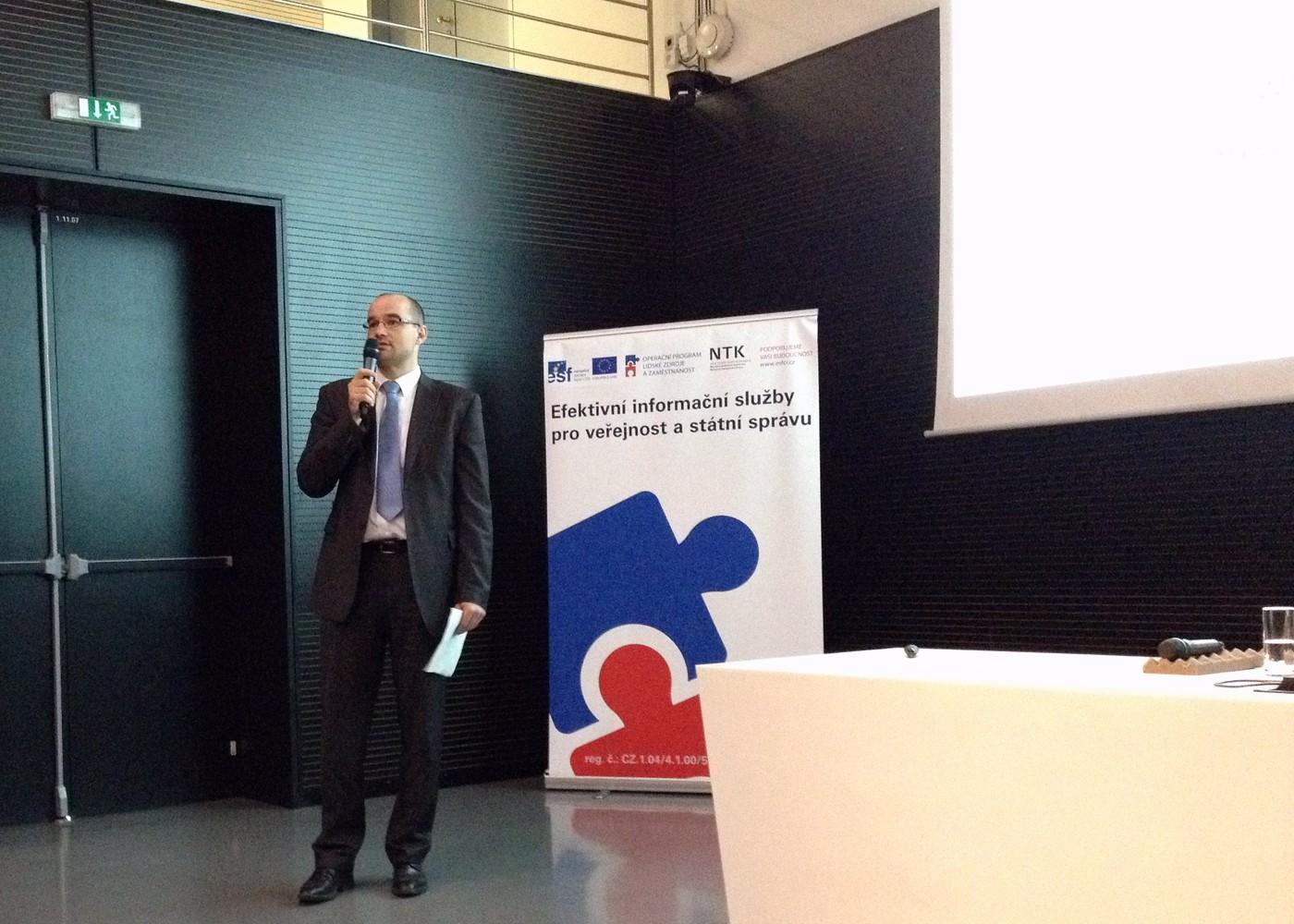 Milan Drahoňovský hovoří o úloze společnosti Deloitte v rámci projektu EFI
