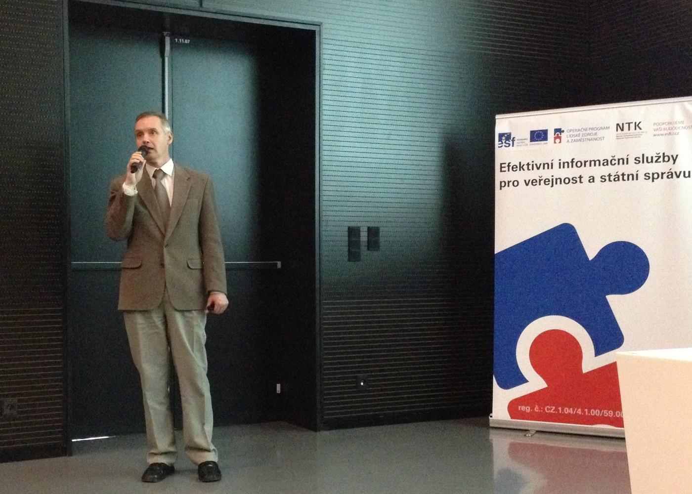 Závěrečná přednáška konference v podání Milana Číhy