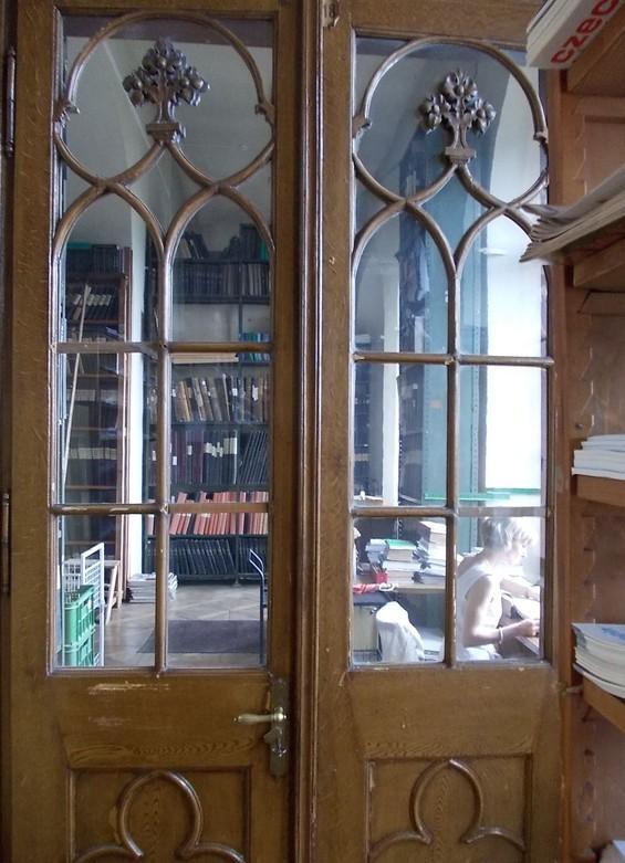 Prostory knihovny