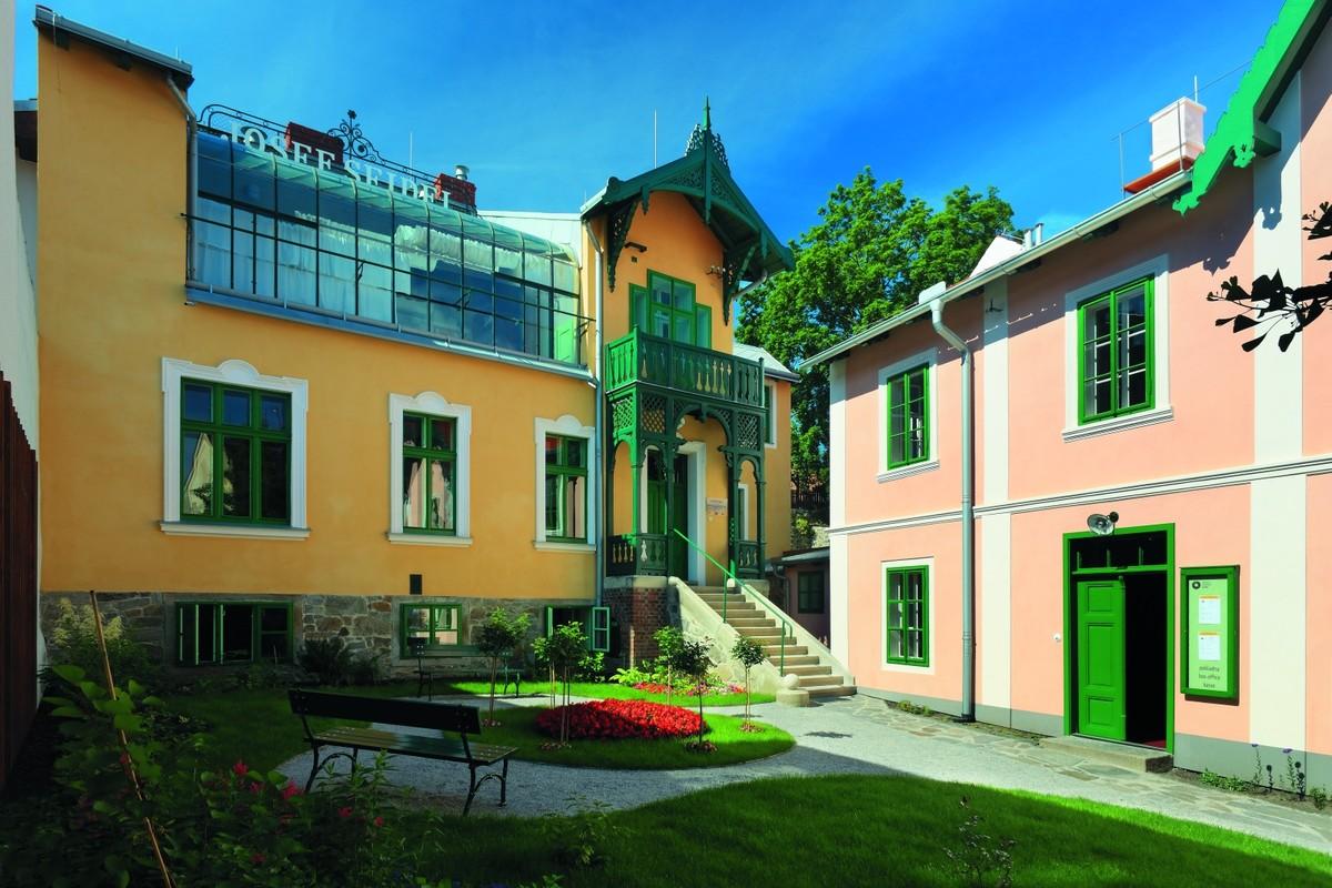 Budova Muzea Fotoateliéru Seidel v Českém Krumlově