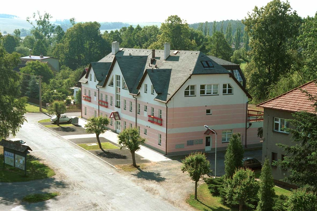 Dům Exodus, depozitář KKB, Třemošná u Plzně