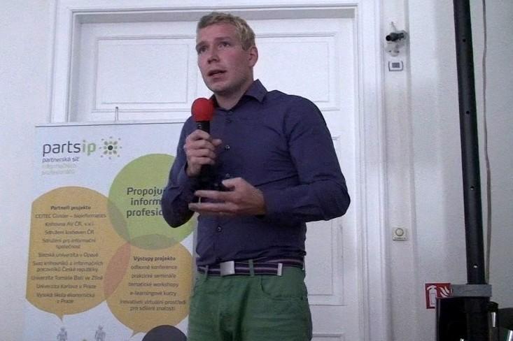 Adam Hazdra, pracovník Jihomoravského inovačného centra