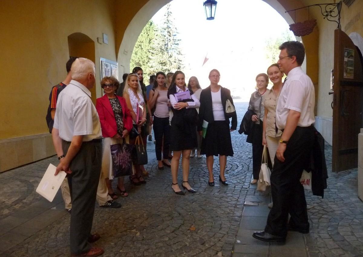 Exkurzia po centre Prešova a návšteva miestneho Múzea vín sa stali vítaným spestrením podujatia