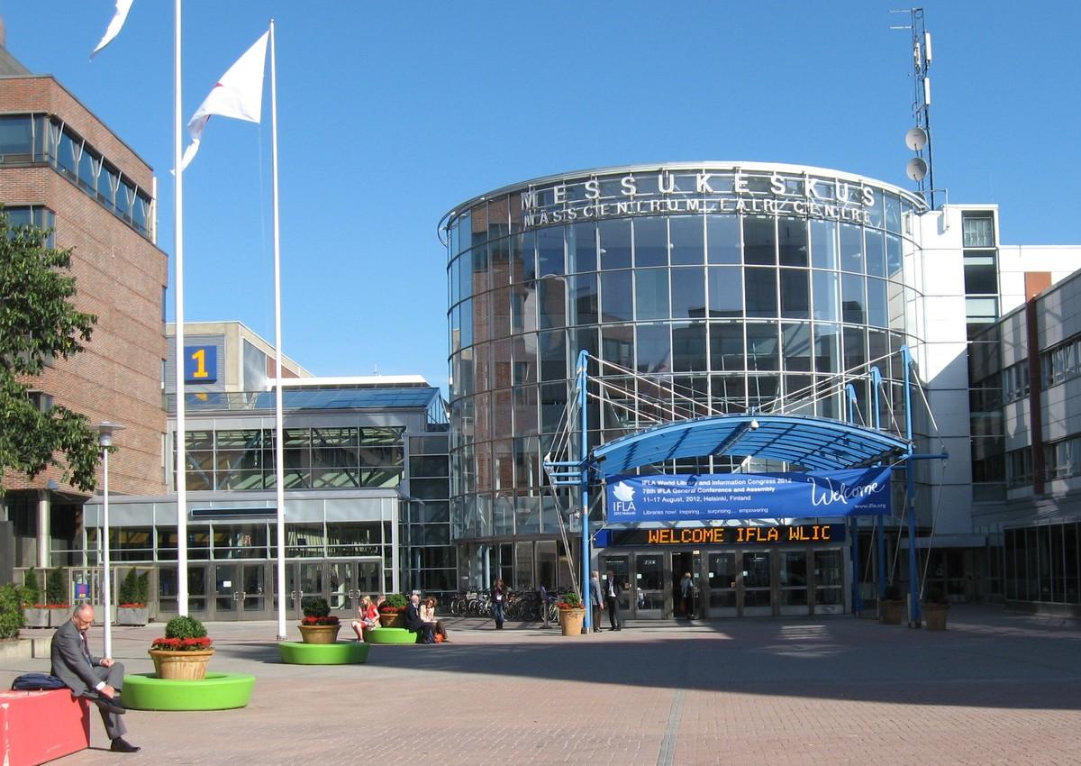 Kongresové centrum Helsingin Messukukeskus je od centra Helsinek vzdáleno jen 4 kilometry