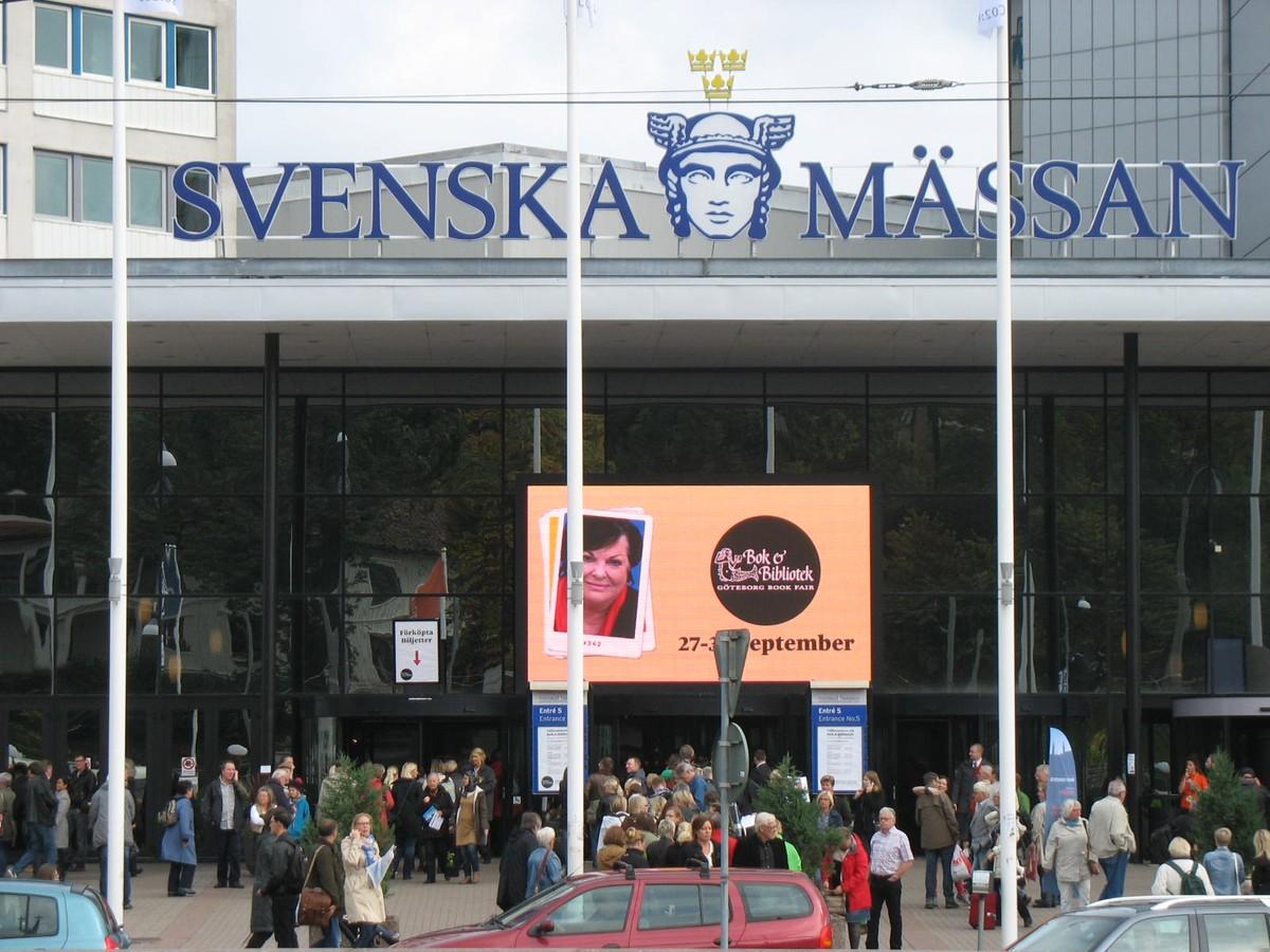 Svenska mässan – místo konání veletrhu
