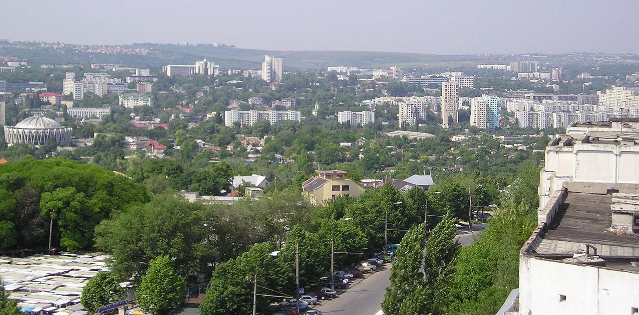 Kišiněv, hlavní město Moldavska