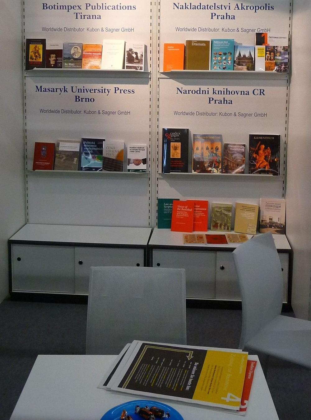Ve Frankfurtu se prezentovala i Národní knihovna ČR