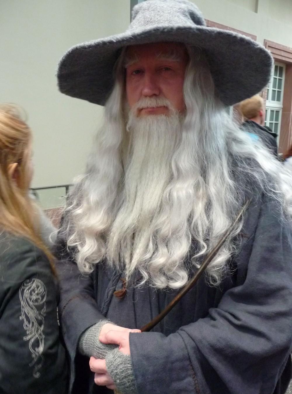 Masky a převleky (Gandalf)