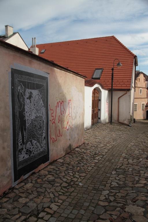 Výstava v ulicích
