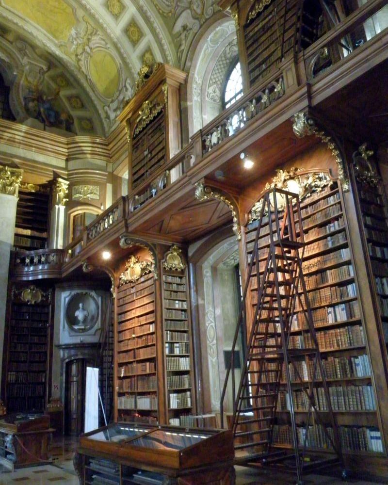 Barokní reprezentační sál Rakouské národní knihovny