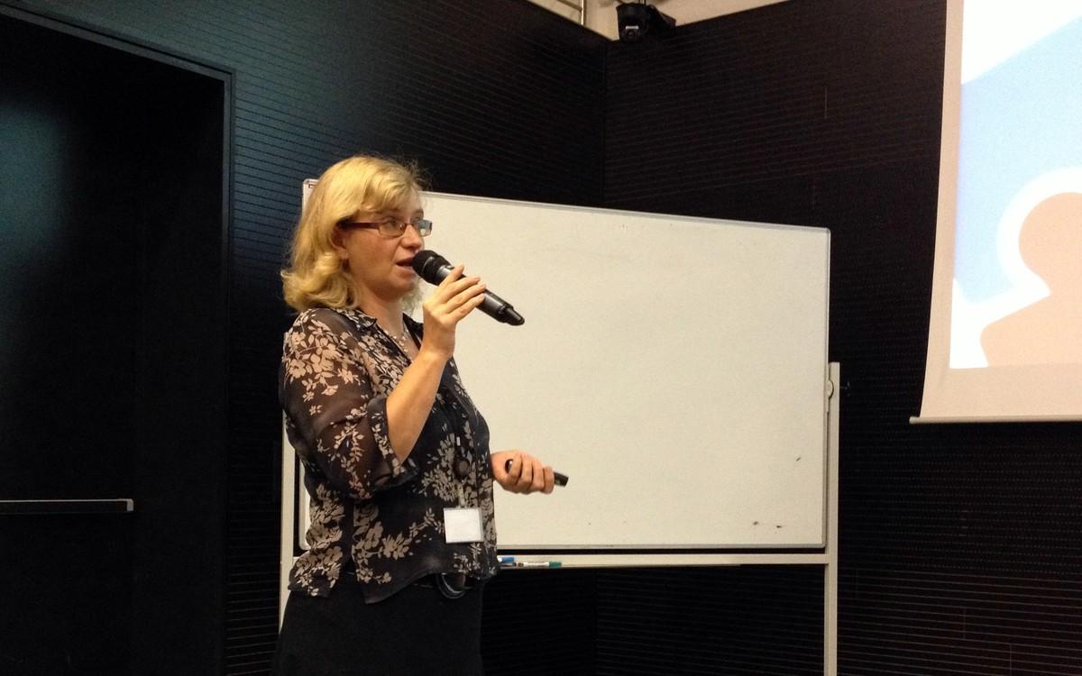 Vedoucí Odboru projektů a inovací NTK Radka Římanová
