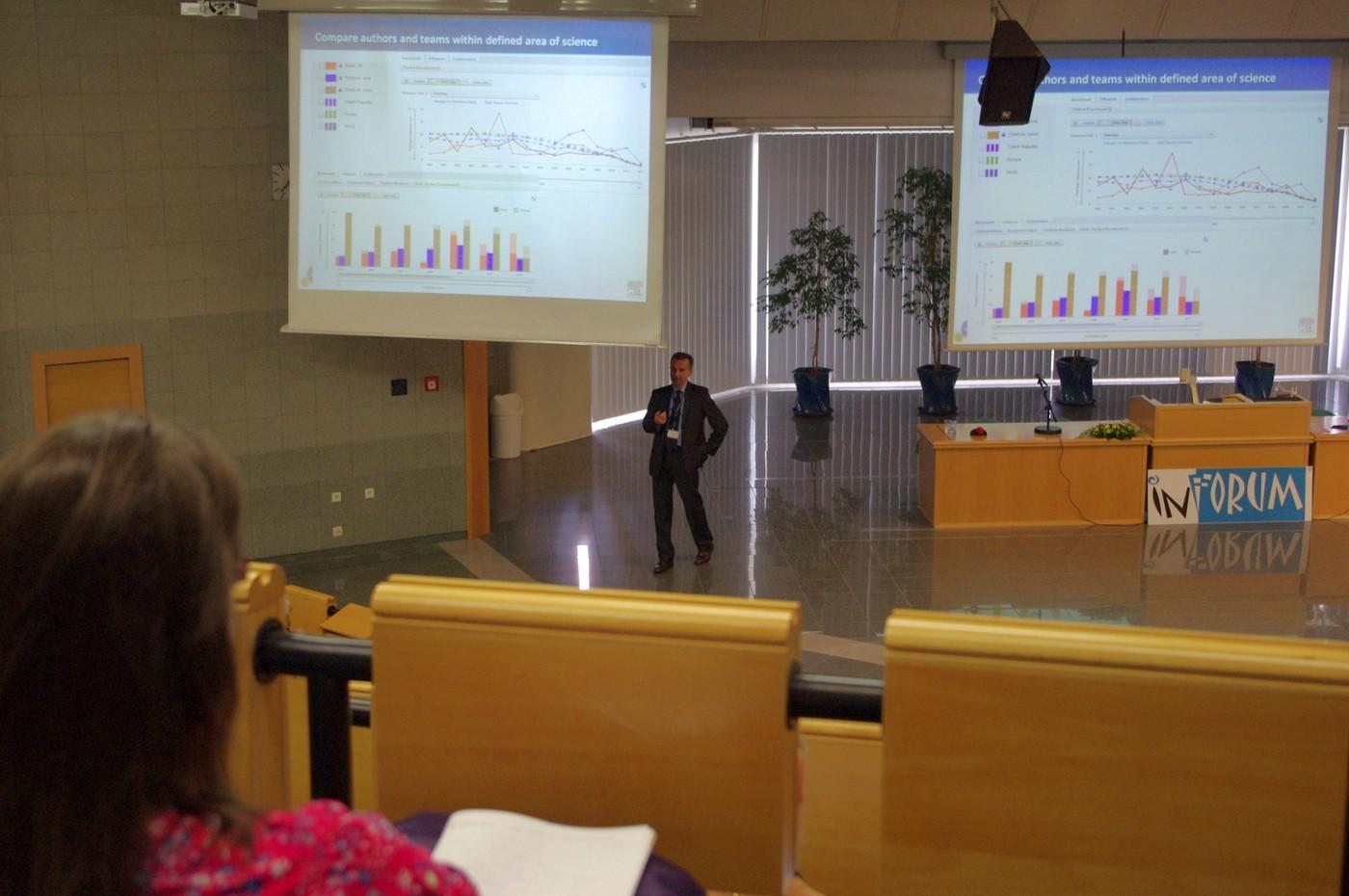 Piotr Golkiewicz hovořil o vědě, byznysu i produktech firmy Elsevier