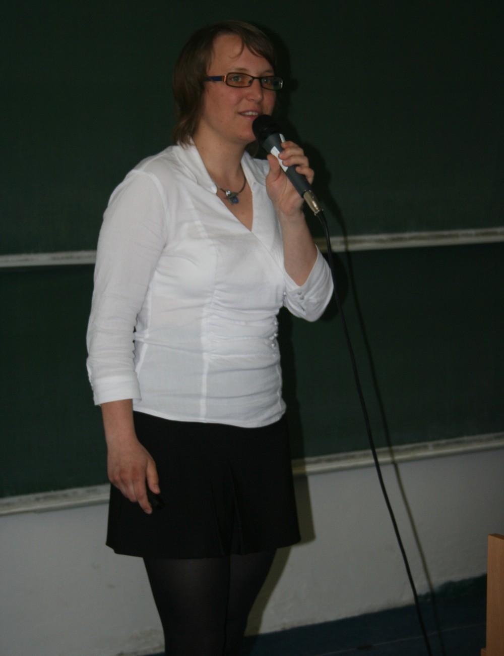 Lenka Němečková hovoří o otevřeném přístupu ke zdrojům i ke vzdělání