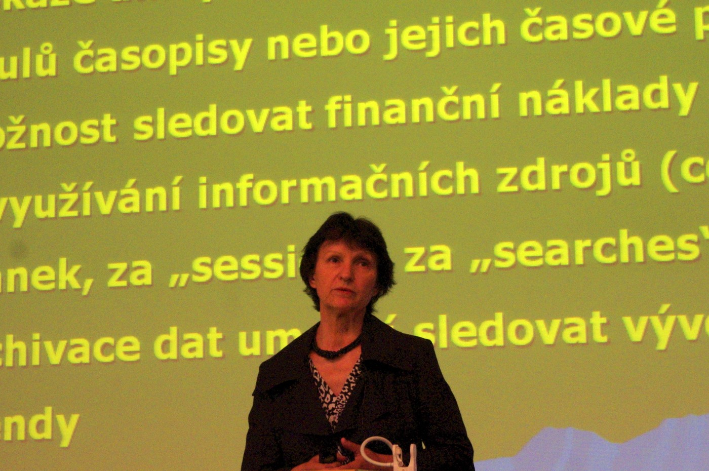 Ludmila Slezáková hovořila o praktických zkušenostech s nástrojem 360 Counter
