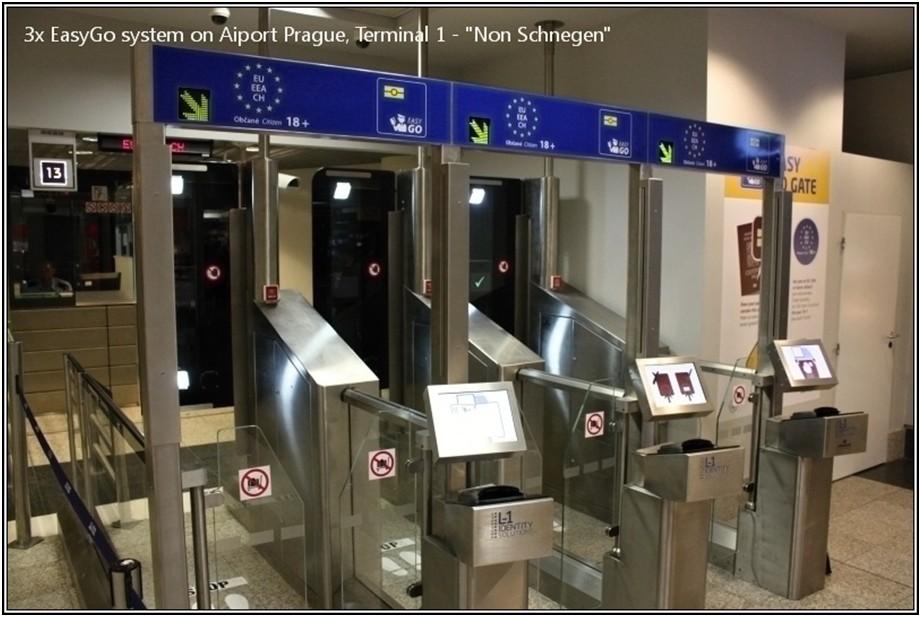 Po roce úspěšného provozu se počet brán EasyGo na pražském letišti rozrostl na tři