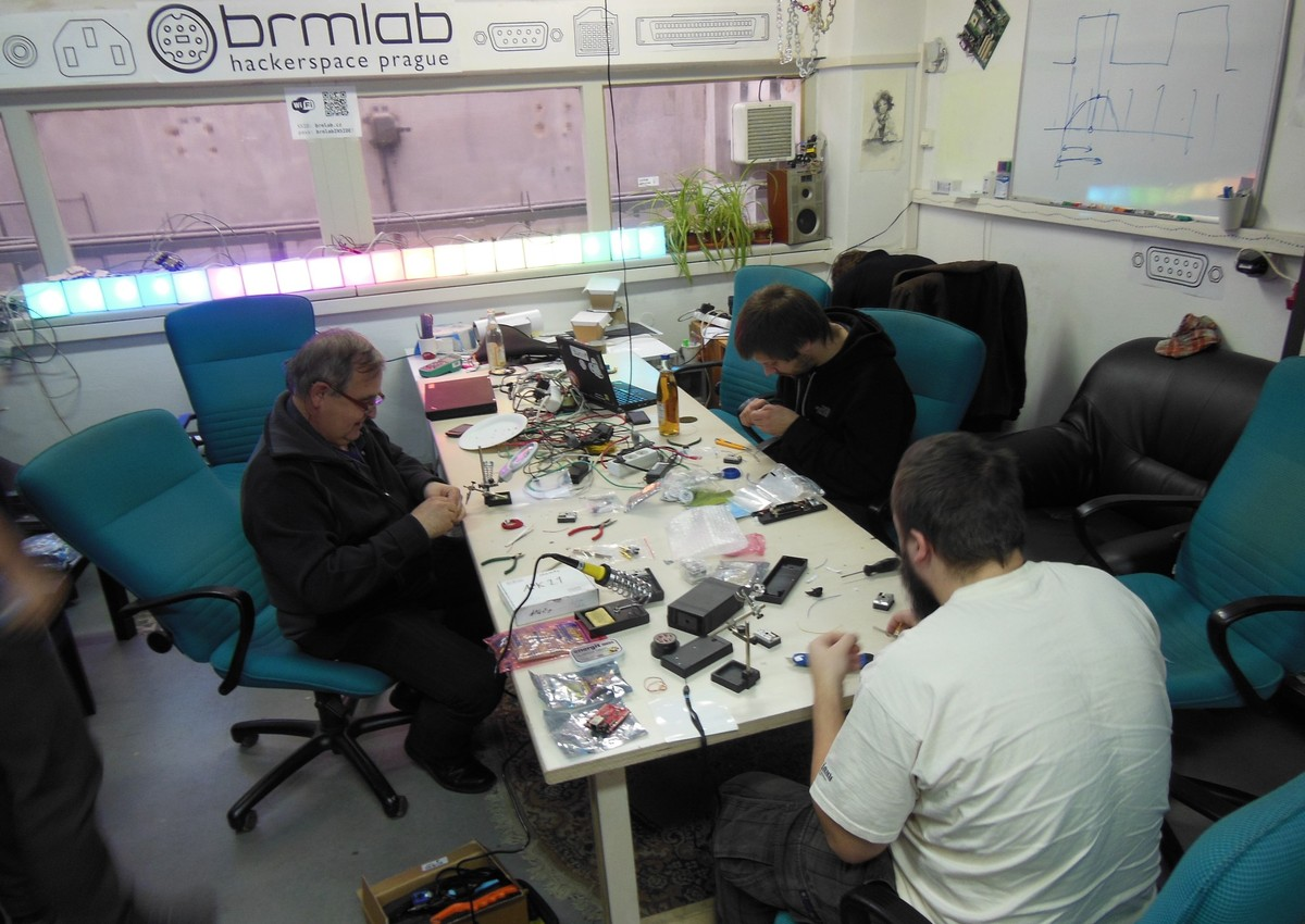 Lednový workshop v pražském Brmlabu