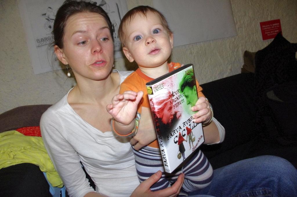 Martina Vaníková a její syn Vincent