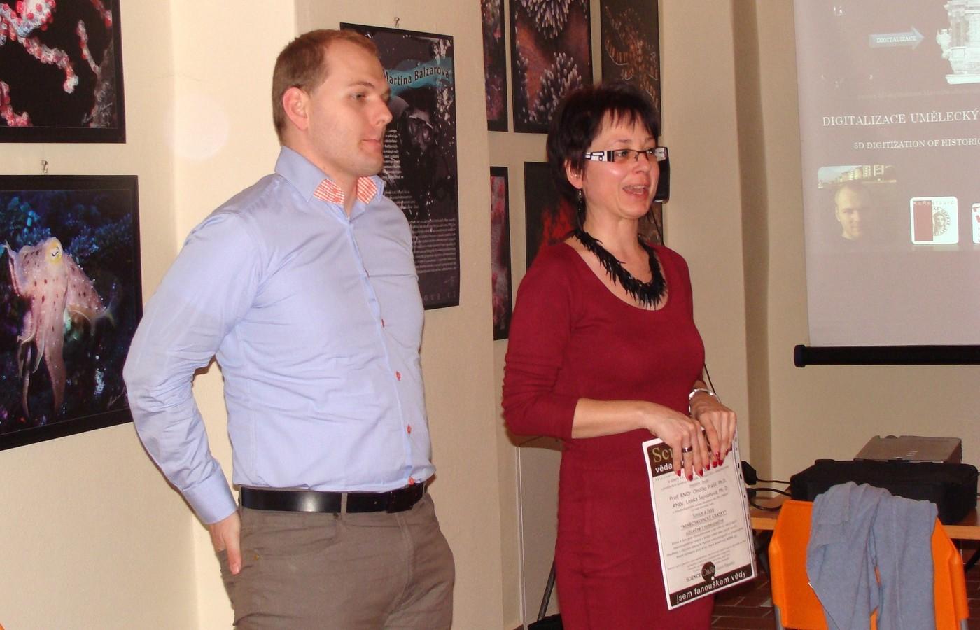 Zdeněk Marek a Jana Závodská