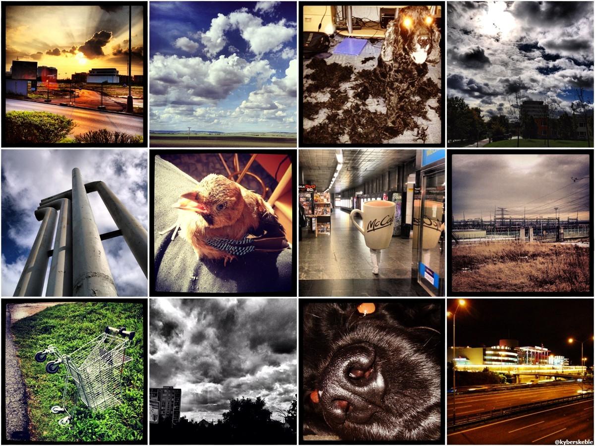 Několik fotografií z mého Instagramu