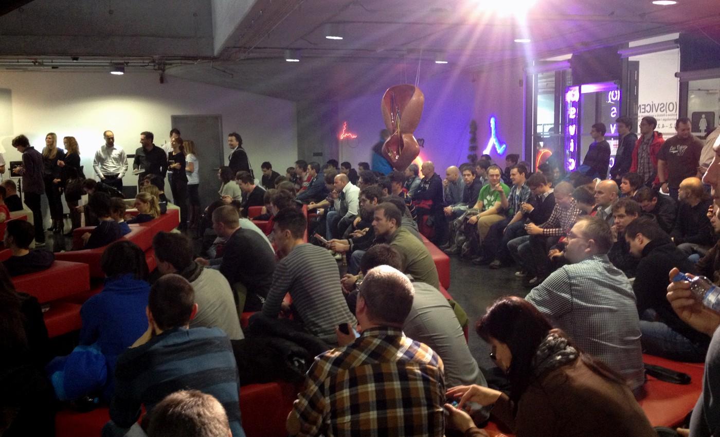 Zahájení konference v Galerii NTK