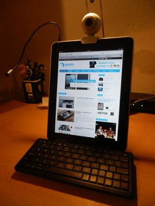 iPad přestavěný na počítač