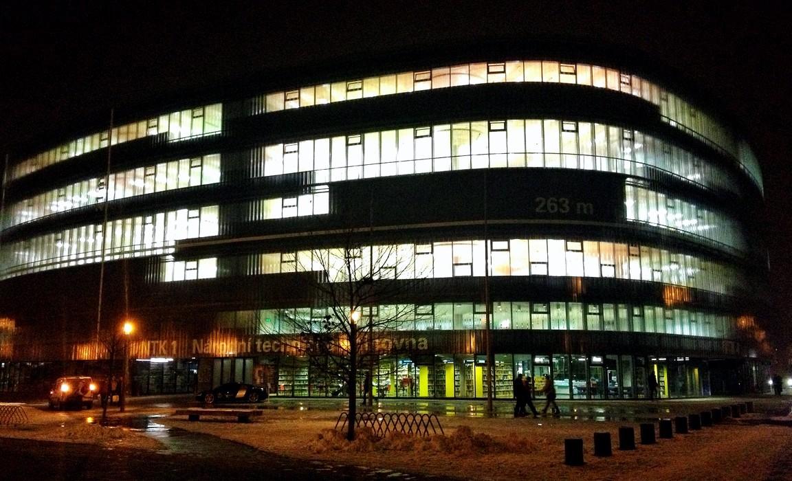 Národní technická knihovna po skončení iCONu