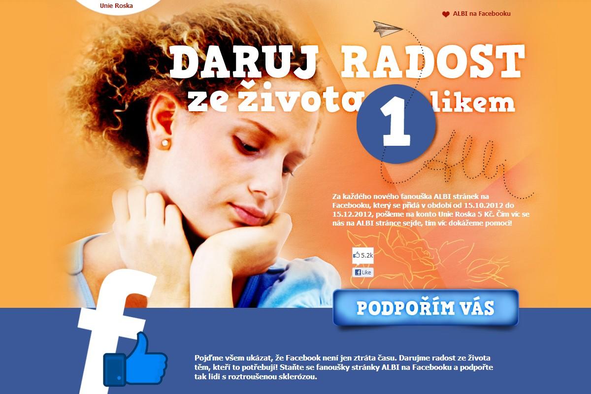 Webová stránka roska.albi.cz