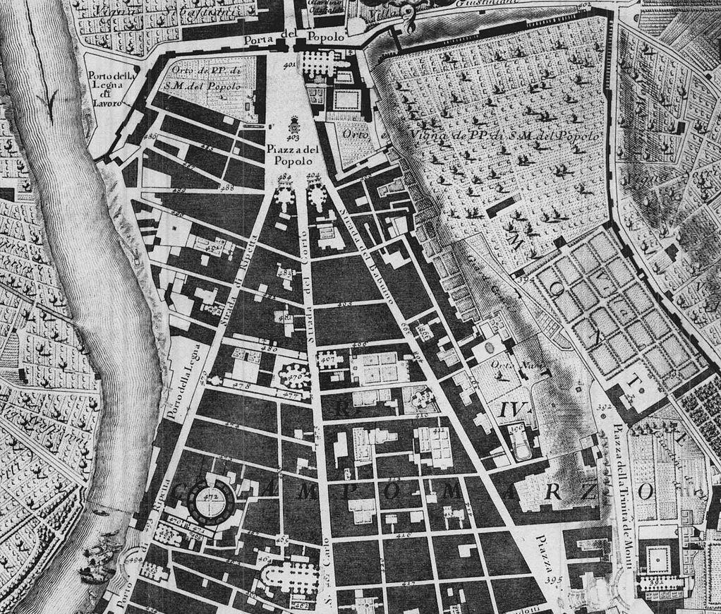 Nolliho mapa z 18. století
