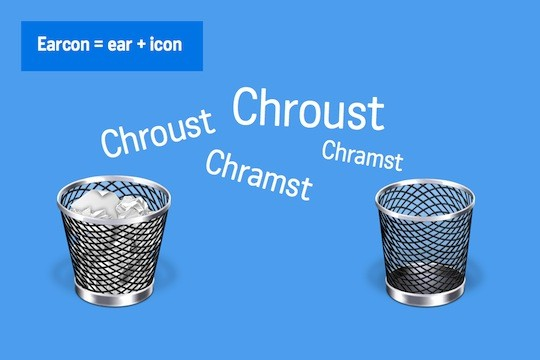 Ilustrace zvukové ikony