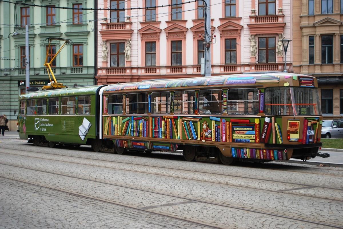 Knižní tramvaj