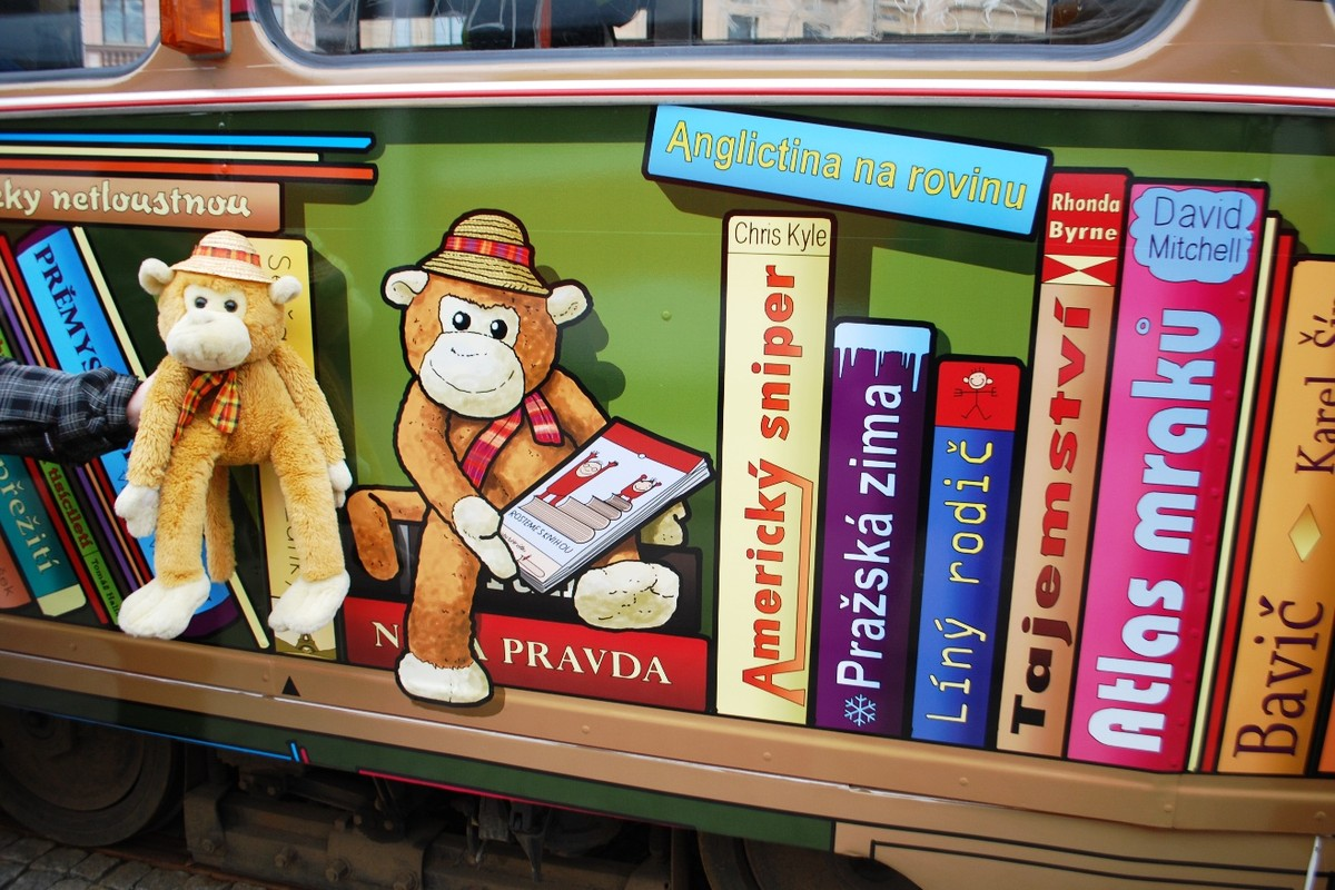 Opička Rozárka, maskot tramvaje