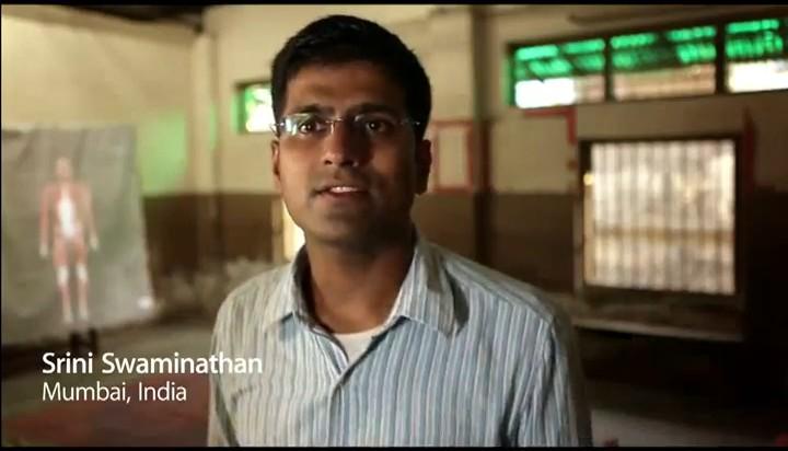 Výuka v Dharavi