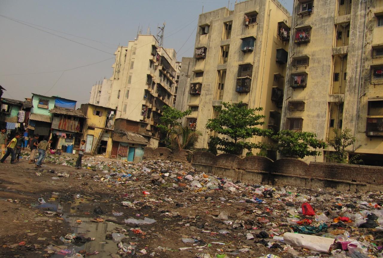 Chudá indická čtvrť Dharavi
