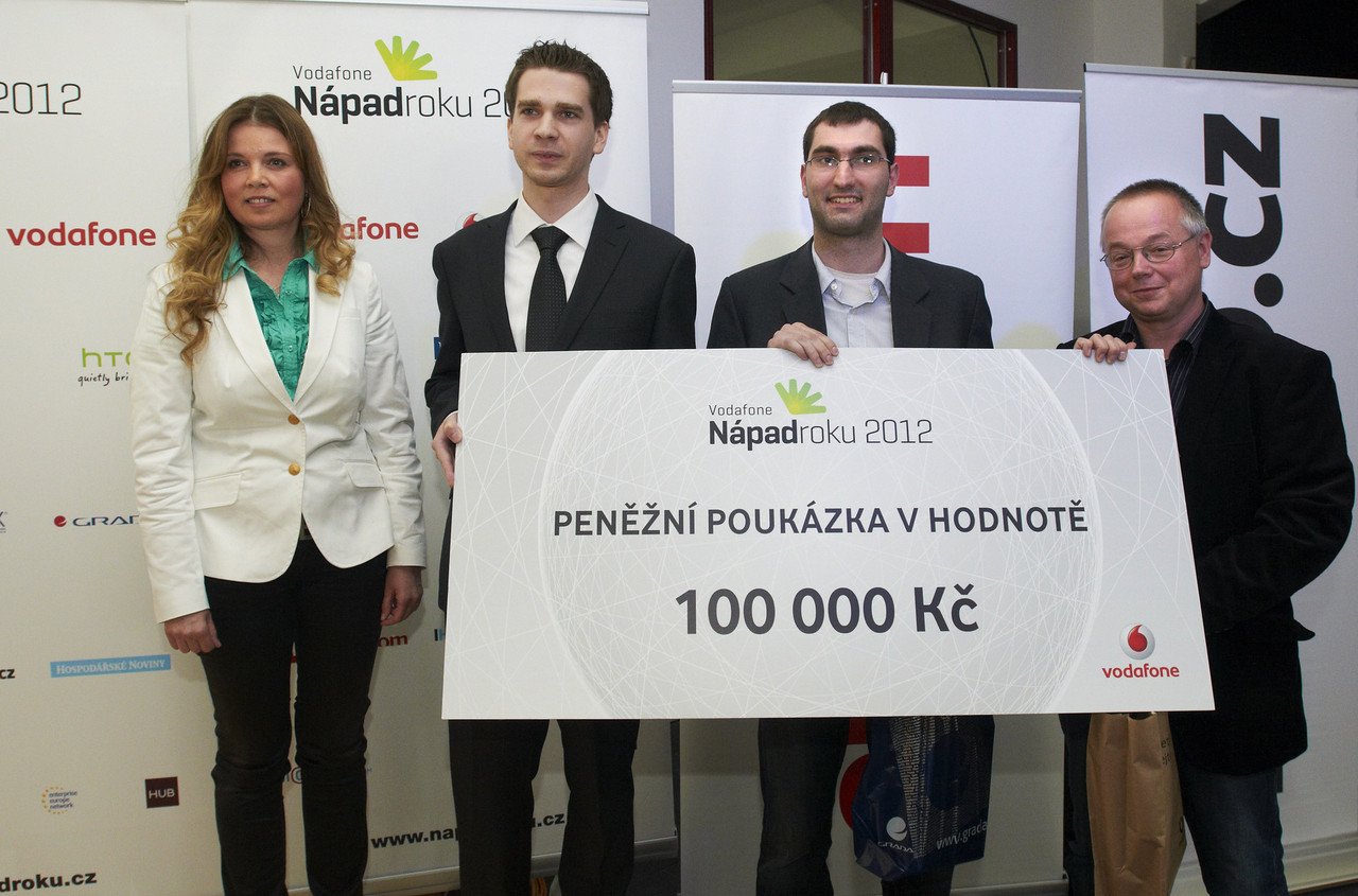 Společná fotografie Vodafone Nápad roku