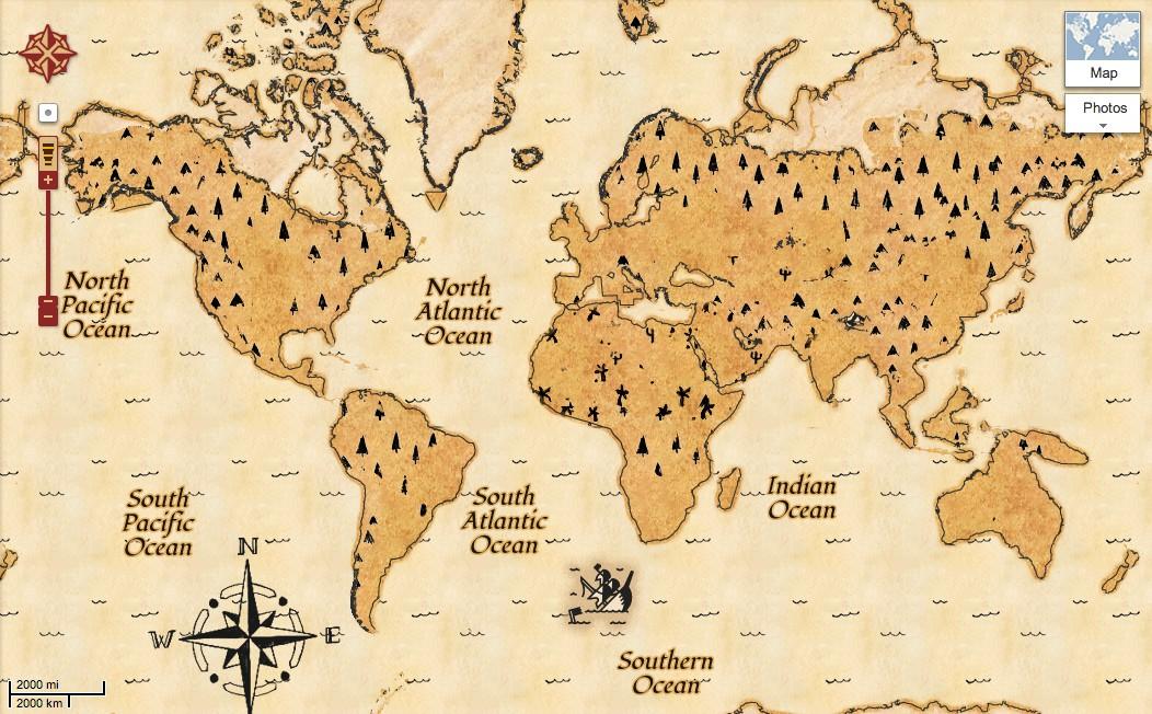 Nová mapa pokladů