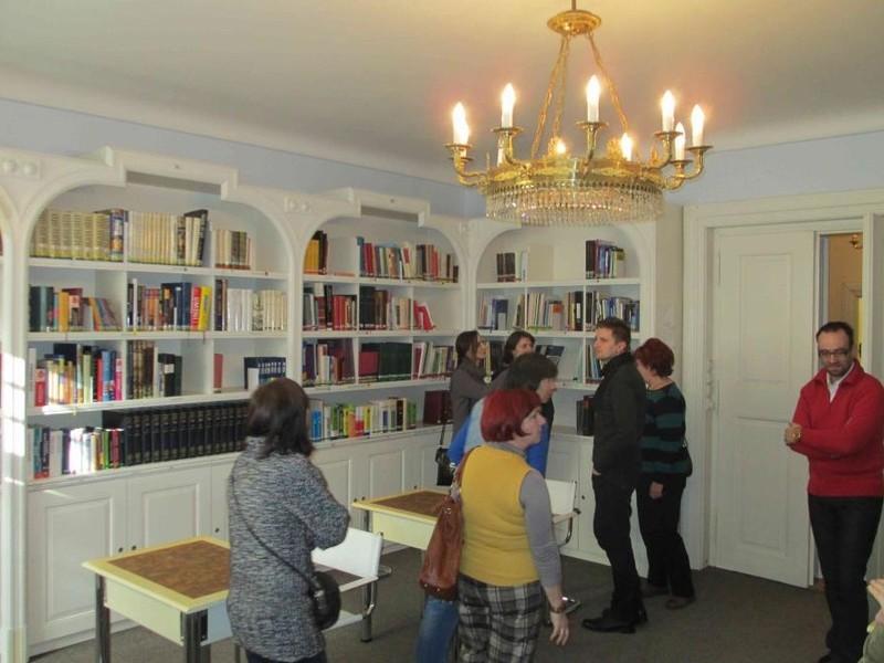 Exkurze SKIPu se v březnu zúčastnily dvě desítky knihovníků
